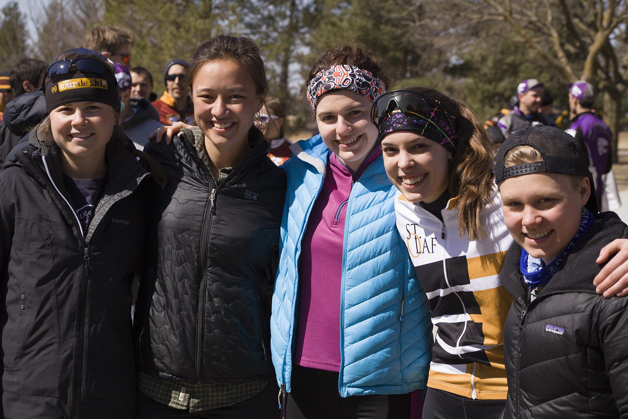 Bicycle racing girls. LP Photo Video. Omaha Photography.