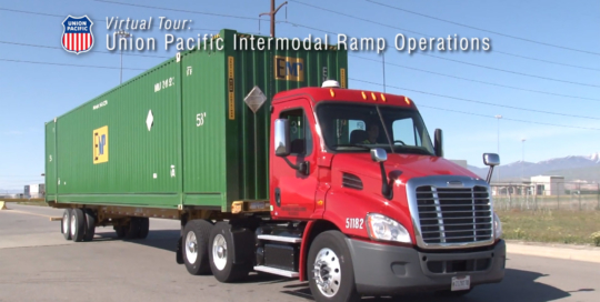Union Pacific Ramp Operations video. Omaha Video Production Company LP Photo Video.