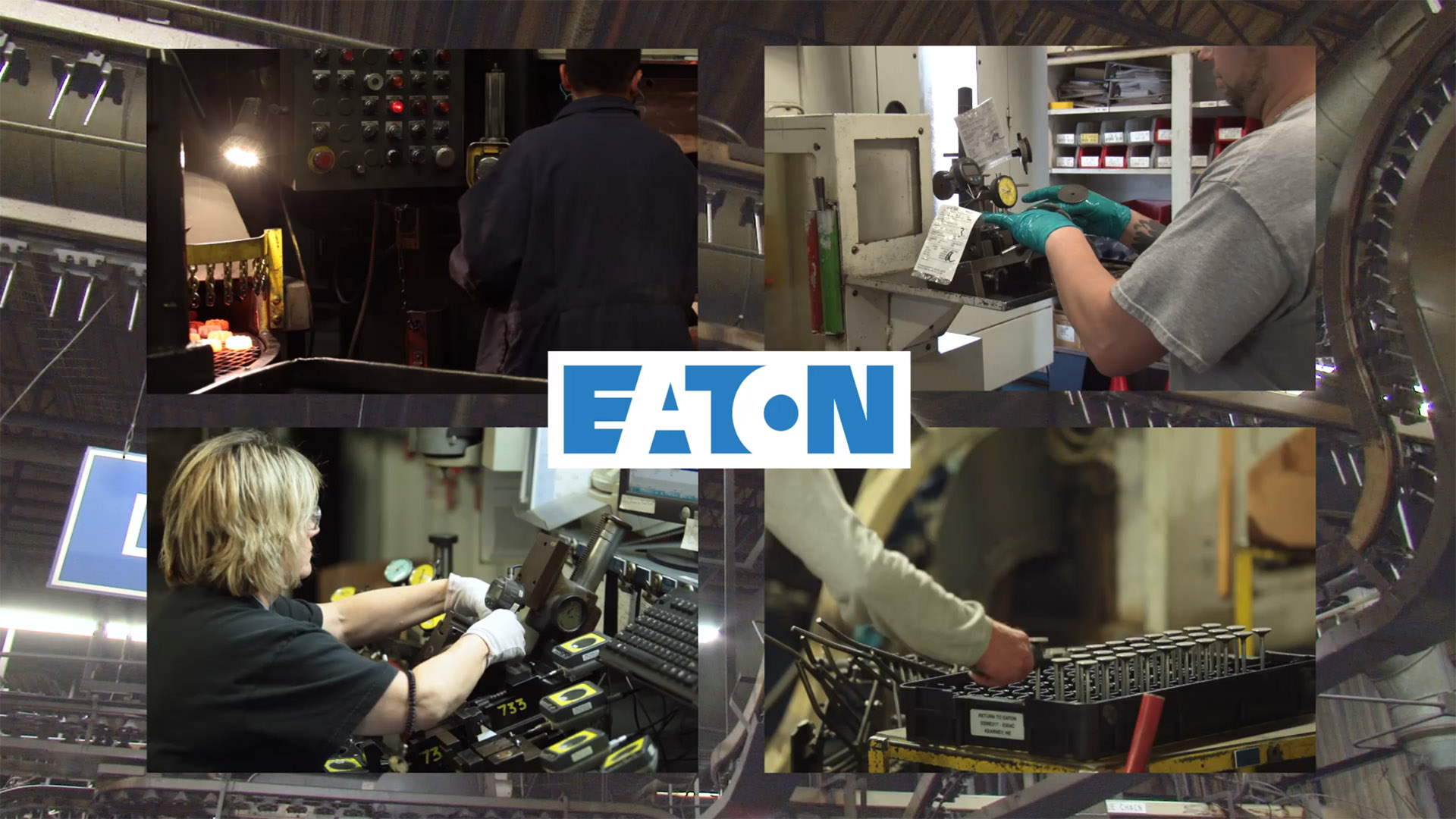 Eaton manufacturing video. Omaha Video Production Company LP Photo Video.