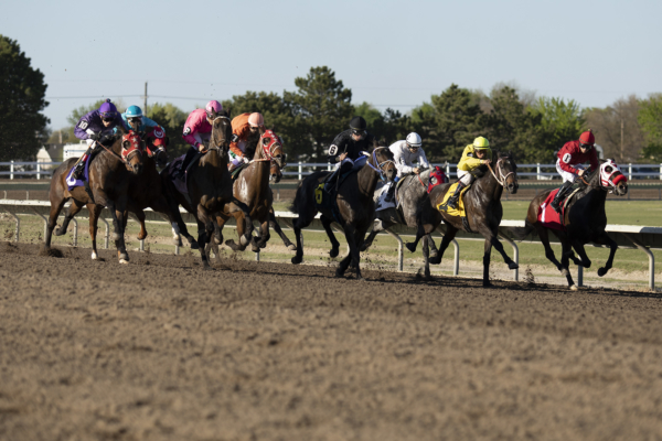 Horse racing at Fonner Park in Grand Island, Nebraska. LP Photo Video. Omaha Photography.