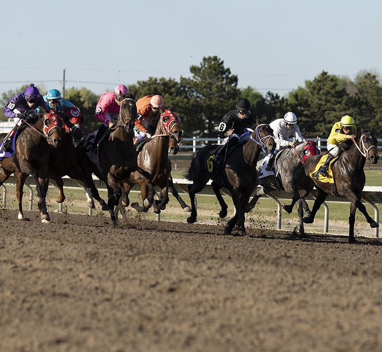 Horse racing at Fonner Park in Grand Island, Nebraska. LP Photo Video. Omaha Photography.