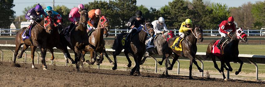 Horse racing at Fonner Park, Grand Island, Nebraska. LP Photo Video. Omaha Photography.