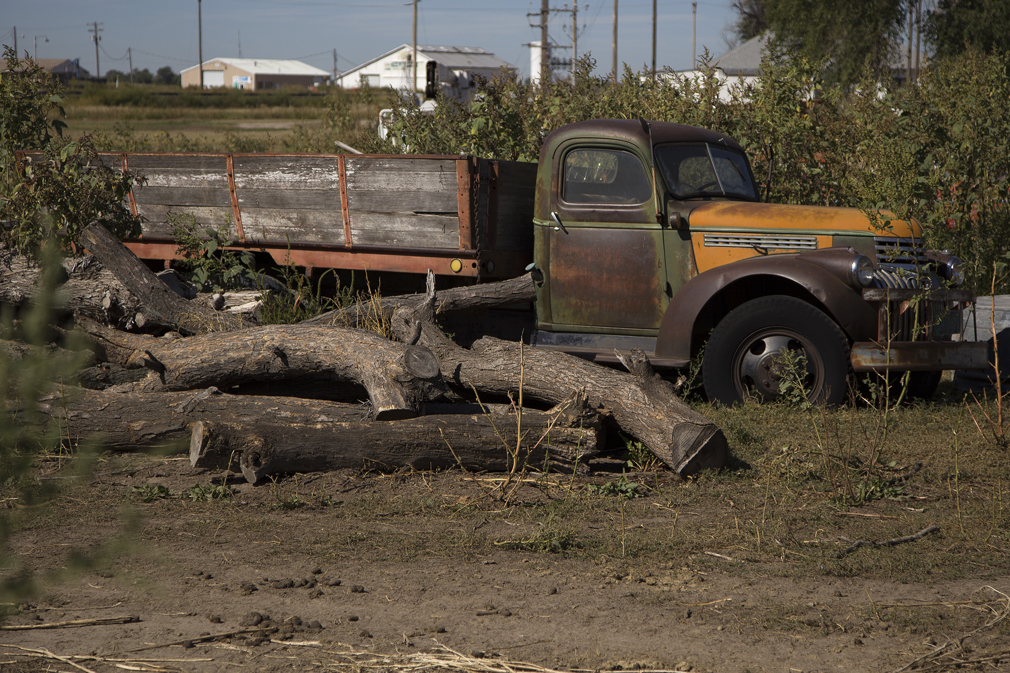 Old truck. LP Photo Video. Omaha Photography.