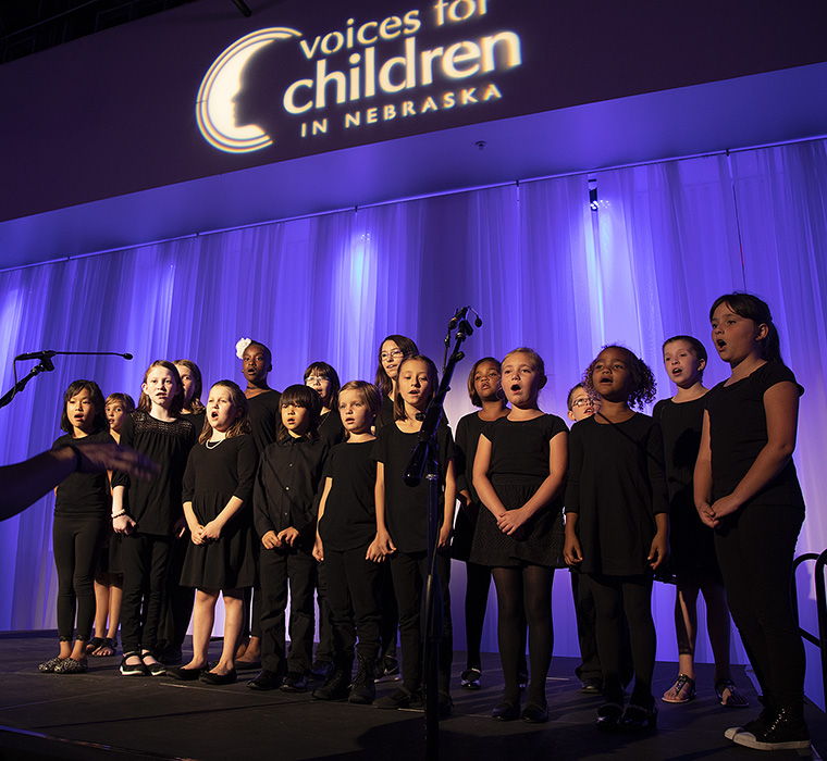 Voices for Children event. LP Photo Video. Omaha Photography.