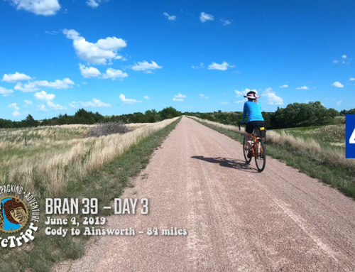 Bicycle Ride Across Nebraska – BRAN 2019 Cowboy Trail